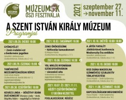 Múzeumok Őszi Fesztiválja a Szent István Király Múzeumban !