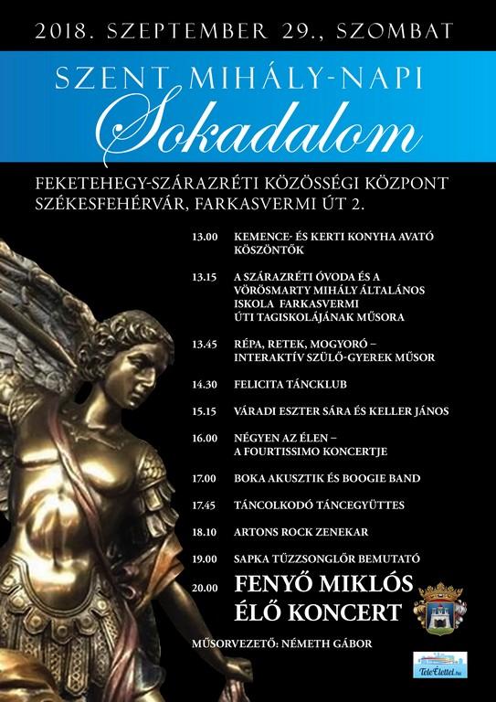 szent mihály napi köszöntő Szent Mihály napi Sokadalom | Székesfehérvári Programok portálja szent mihály napi köszöntő