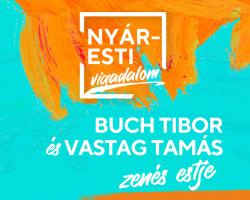 Nyáresti vigadalom – Buch Tibor és Vastag Tamás zenés estje