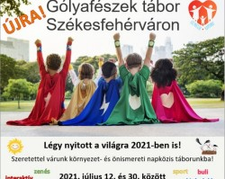 Gólyafészek nyári gyerektábor 2021. - 2. turnus