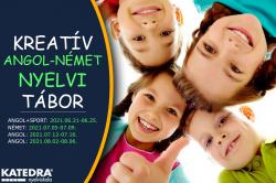Kreatív Angol és Német Nyelvi Táborok 7-14 éves gyerekeknek!